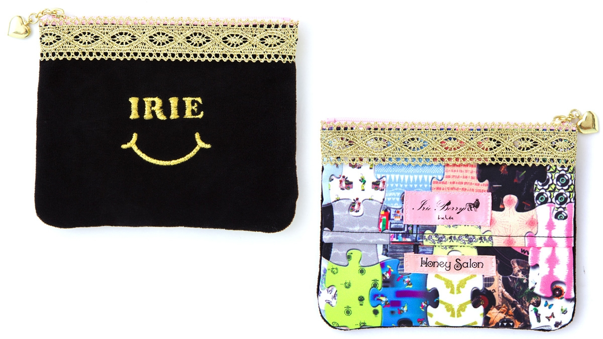 HONEYSALON x IRIEBERRY SMIRIE POUCH ¥2,300
