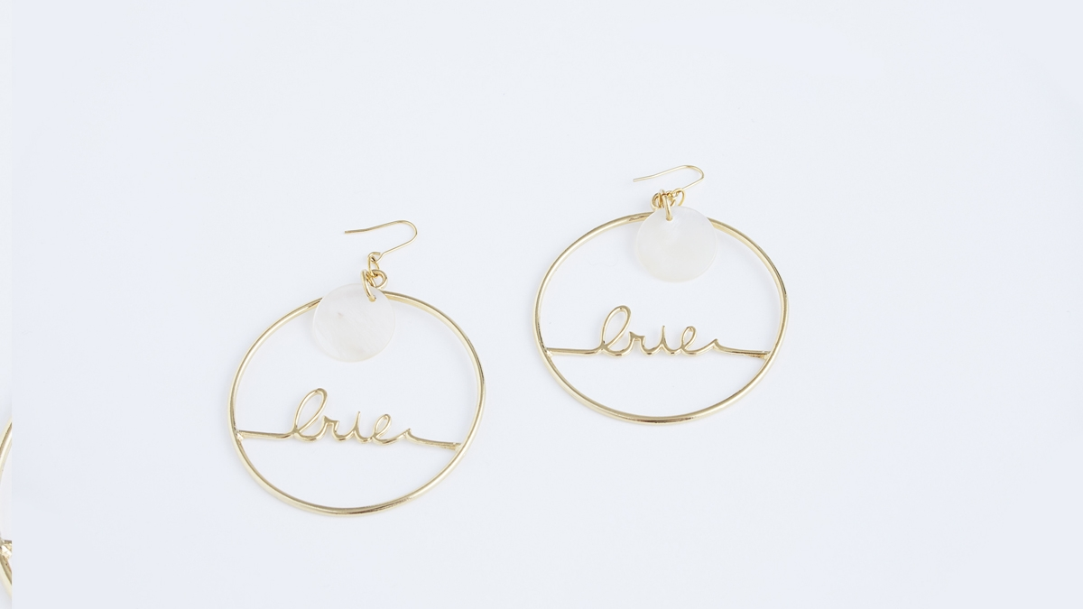 IRIE CIRCLE PIEARCED(SILVER GOLD)5500yen