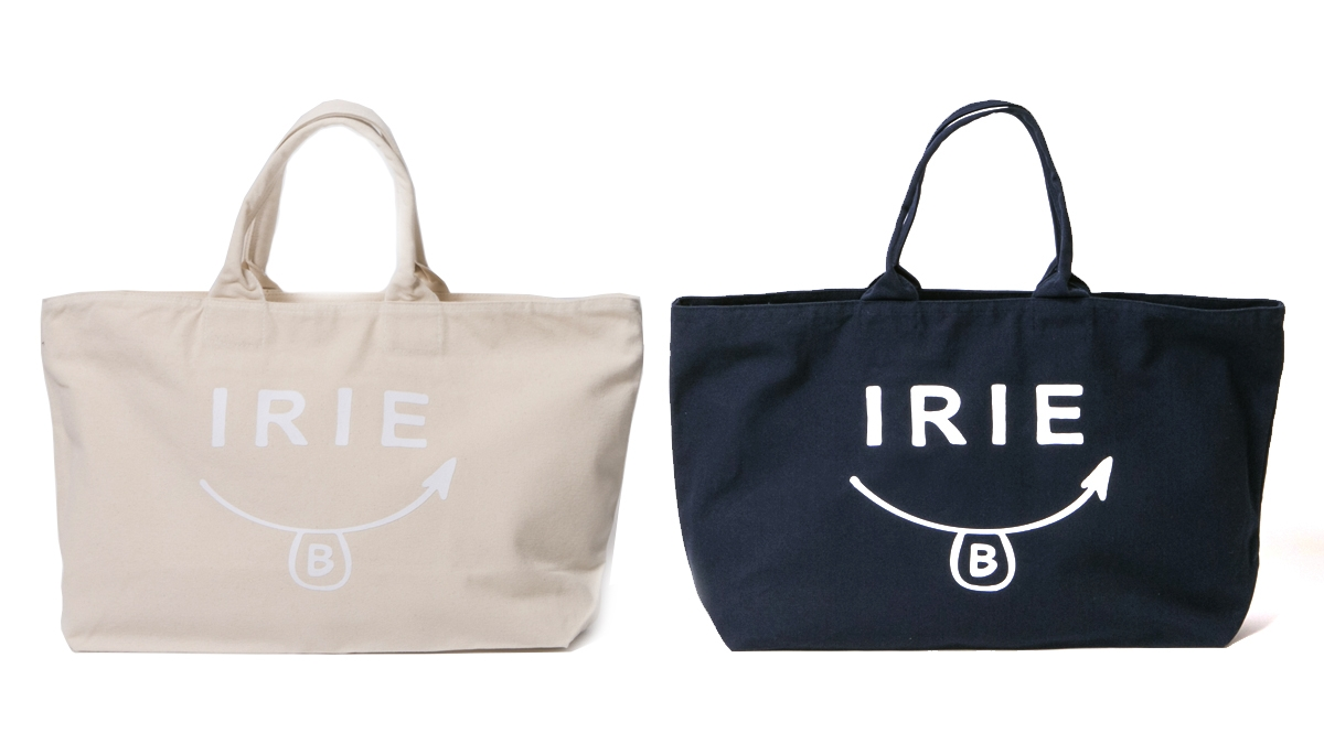 SMIRIE B BIG TOTE (NATURAL NAVY) ¥4,800