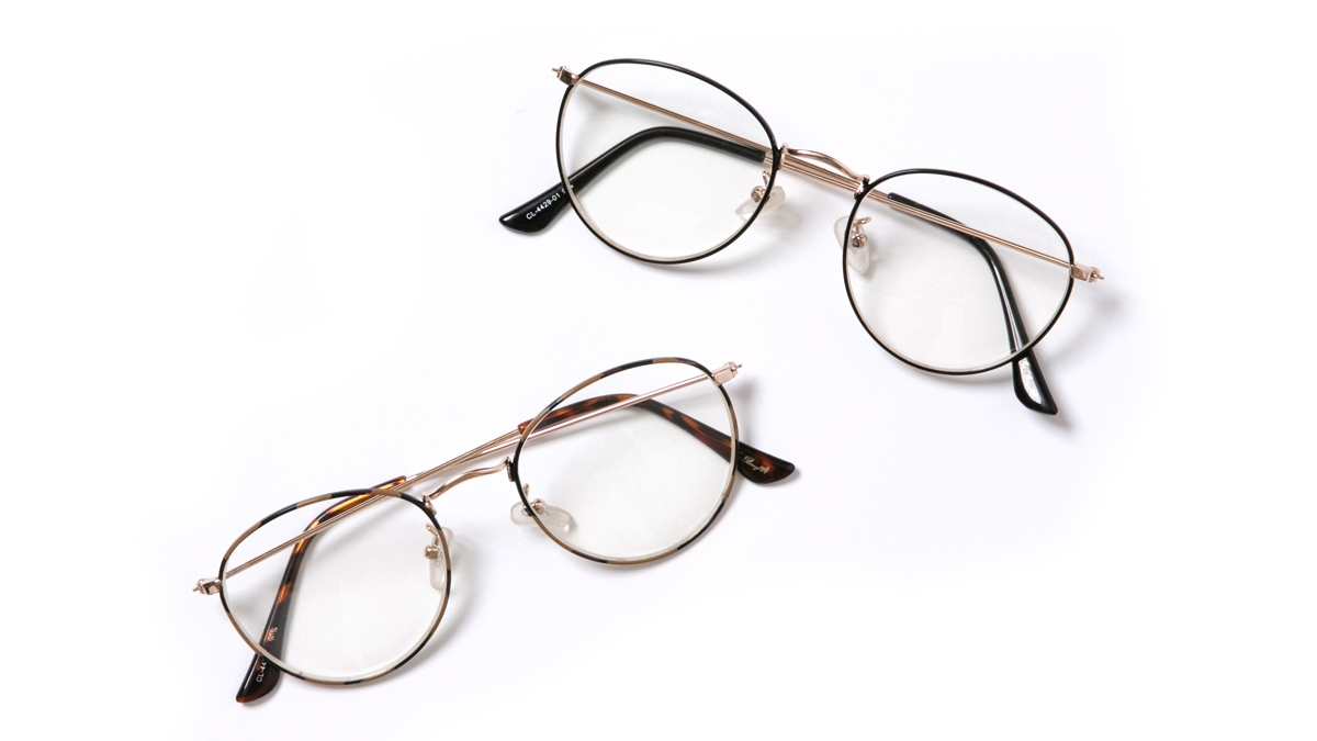 CLASSIC GLASSES (BROWN BLACK) ¥3,800
