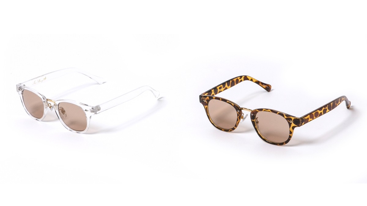 CLEAR SUNGLASSES (CLEAR T.T SHELL) ¥3,800