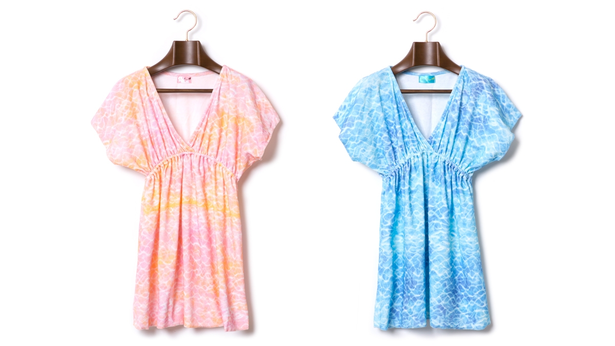 BERRY SURFACE PILE MINI OP (PINK BLUE) ¥12,800